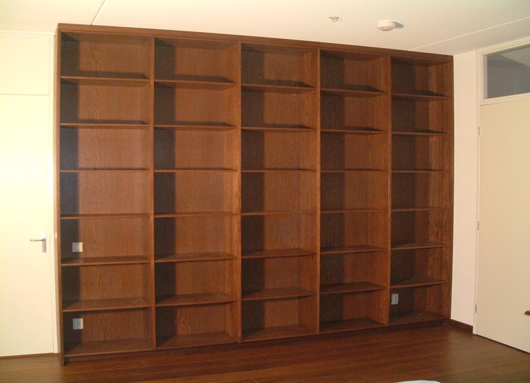 24 massief eiken boekenkast kast